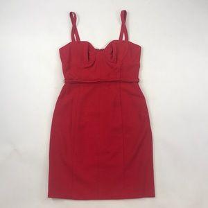 Yoana Baraschi Fire Red Dress